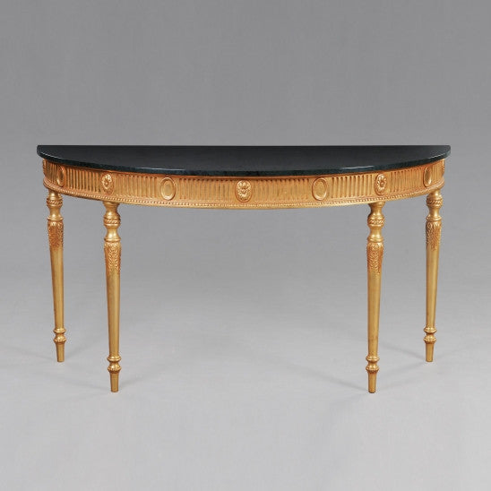 Adam Pier Table with Marble Top