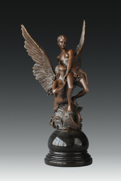 ANGEL HOLDING A MAN