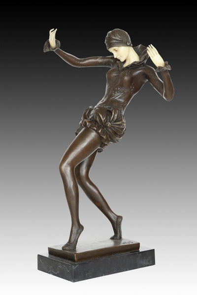 BRONZE DANCER LADY