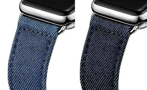 Denim Watch Bands For Apple Watch [2 Variations]