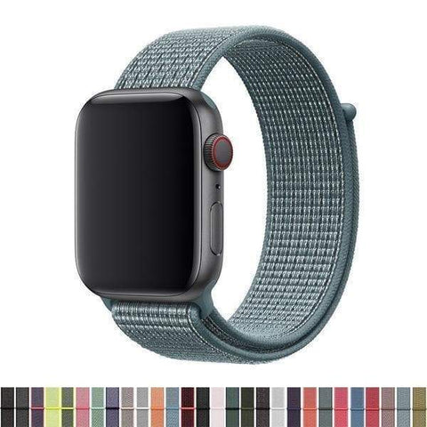 Nylon Watch Bands For Apple Watch [22 Variations]