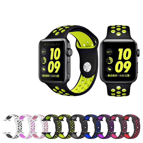 Rubber Watch Bands For Apple Watch [22 Variations]