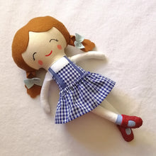 Load image into Gallery viewer, Dorothy Inspired Doll