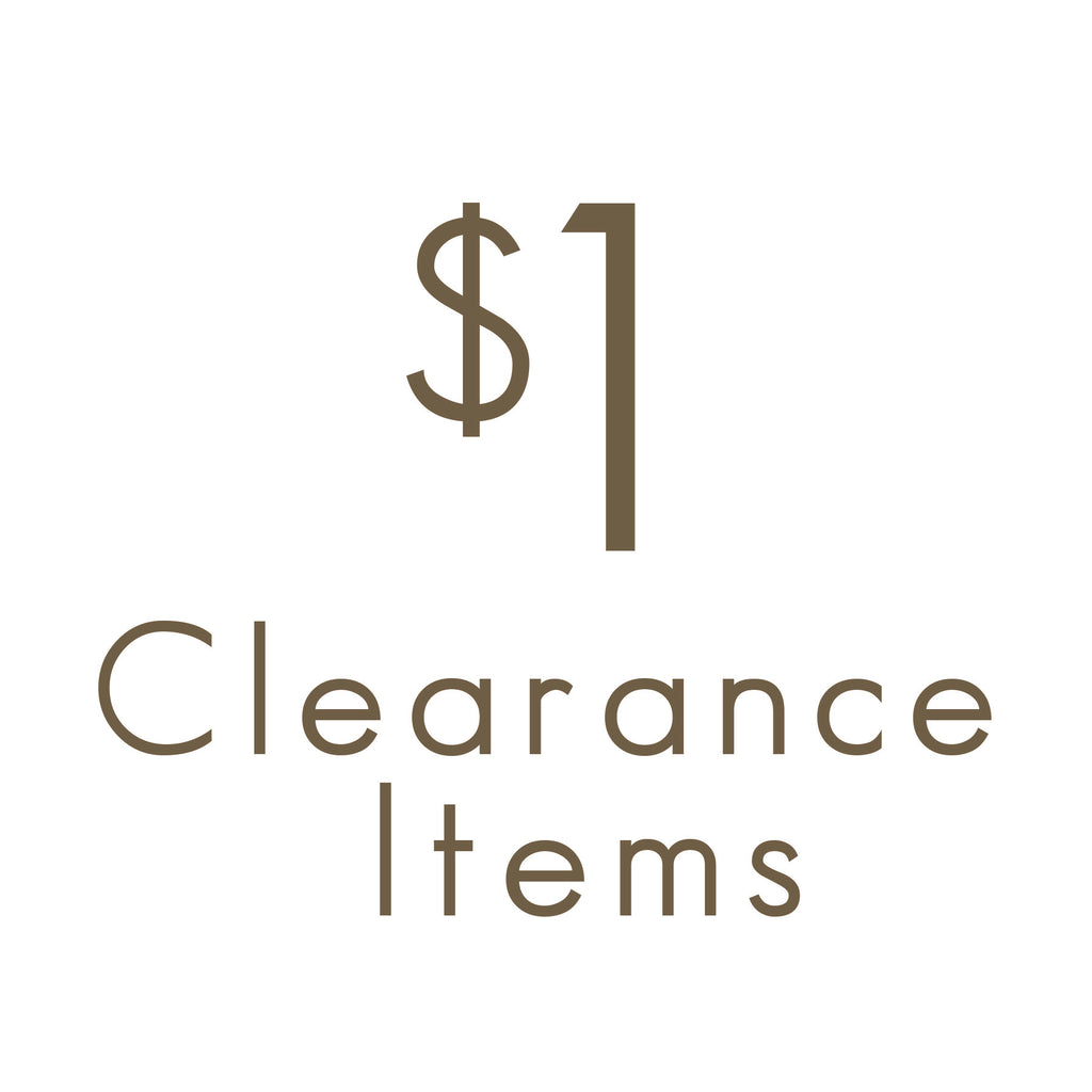 One Dollar Clearance Sale