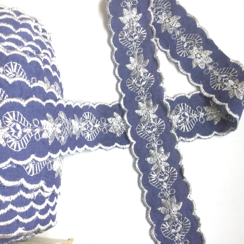 Embroidered Ribbon Trim