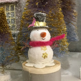 Spun Cotton Snowman Mini-Make