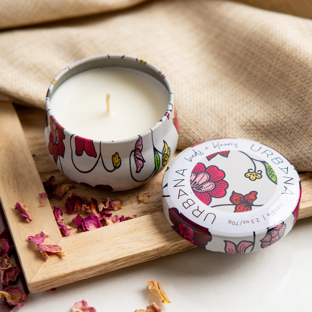 Buds & Blooms Mini Candle, Urban Nirvana