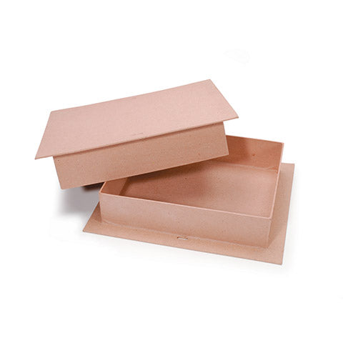 Kraft Paper Maché Rectangular Candy Box