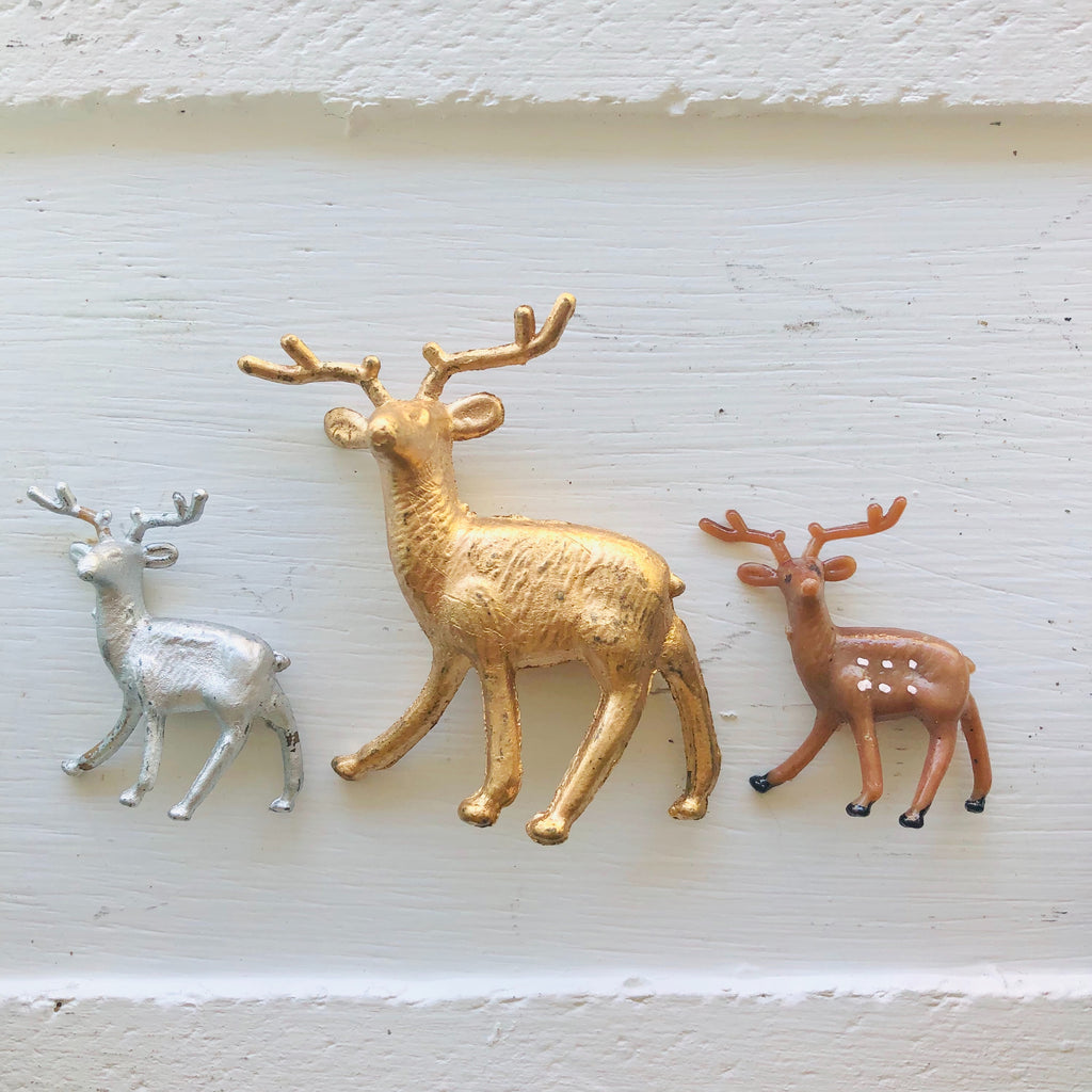 Mini Deer Figure