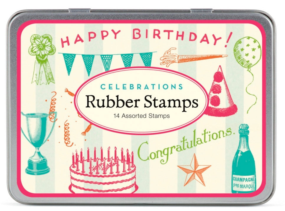 Celebrations Rubber Stamp Set
