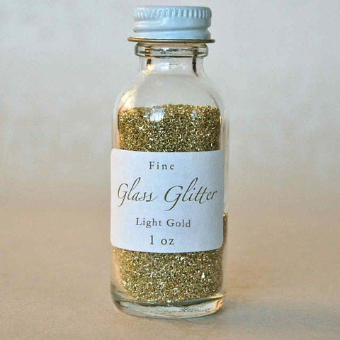 Light Gold Glass Glitter
