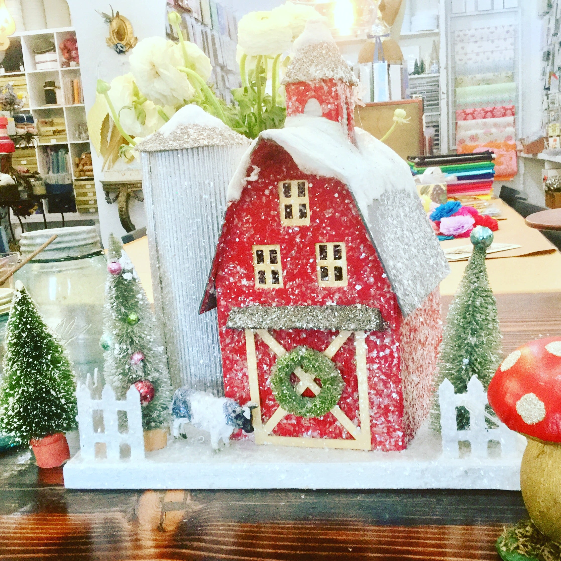 Country Christmas Houses