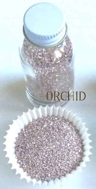 Orchid Glass Glitter
