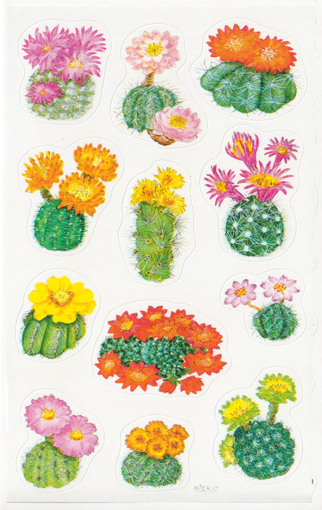 Cactus Flowers - Stickers