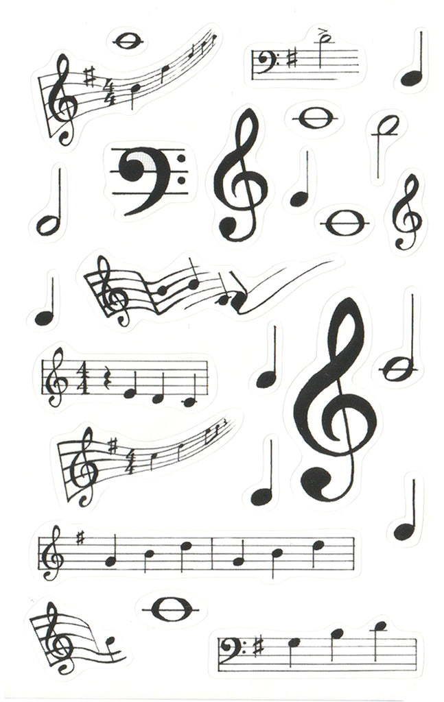 Music Notes - Stickers
