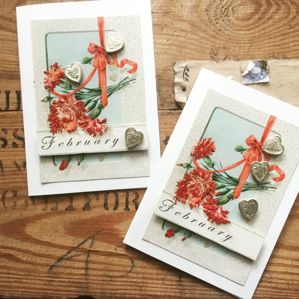 Vintage Card of the Month Kit