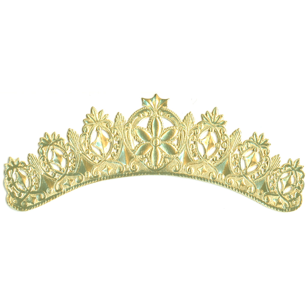 Tiara Crown, Dresden Die-Cut
