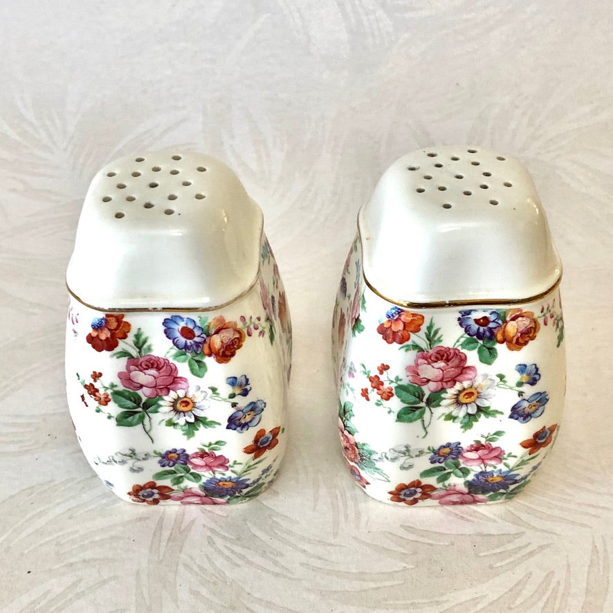 Cheery Chintz Teapot or Shakers