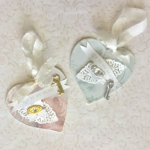 Pretty Heart Ornament Kits
