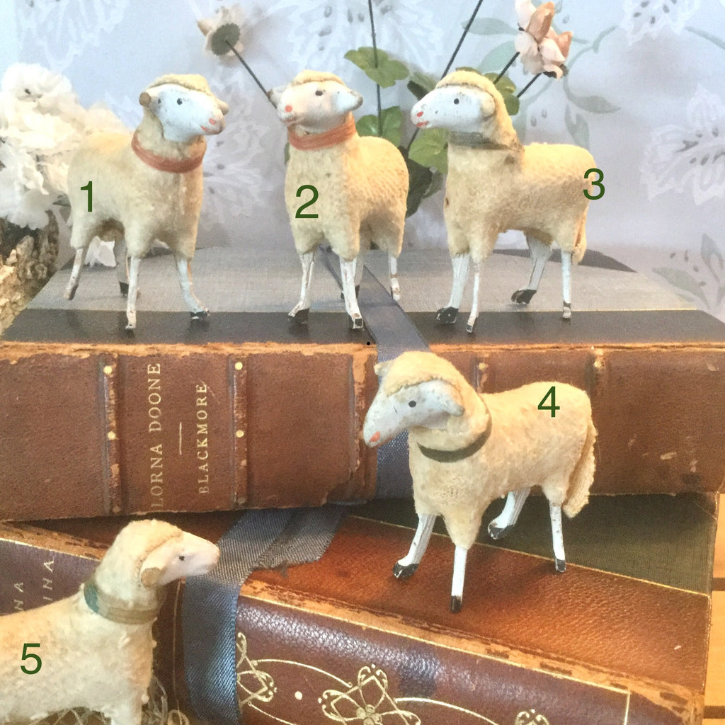 Antique Miniature Sheep