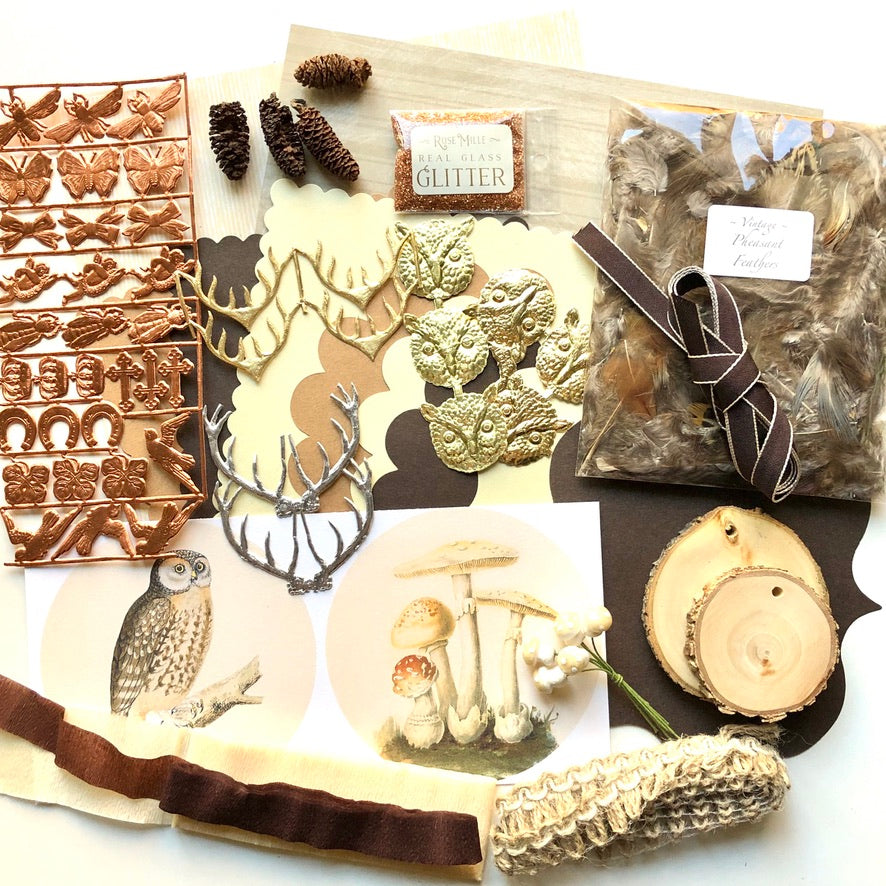 Fall Rustic Ephemera Collection