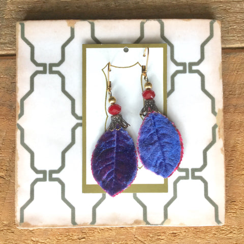 Velvet Leaves Jewelry Collection