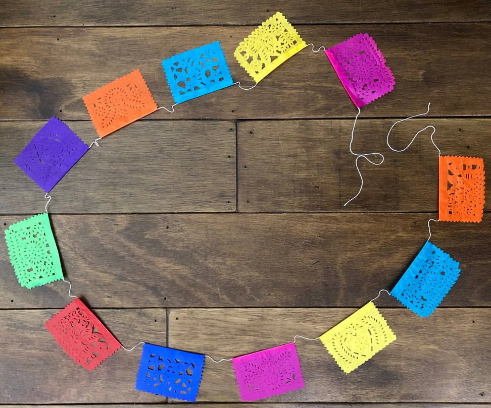 Mini Papel Picado Banner