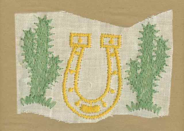 Yellow_Vintage_Applique_Horse_Shoe