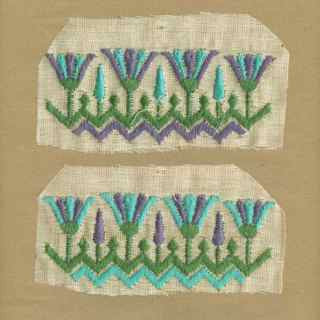 Violet_Vintage_Applique_Egyptian_Motif