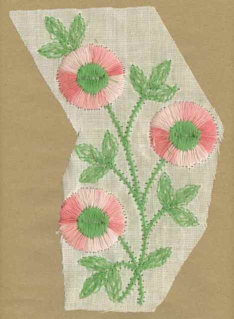 Pink_Vintage_Applique_Large_Triple_Button_Flower