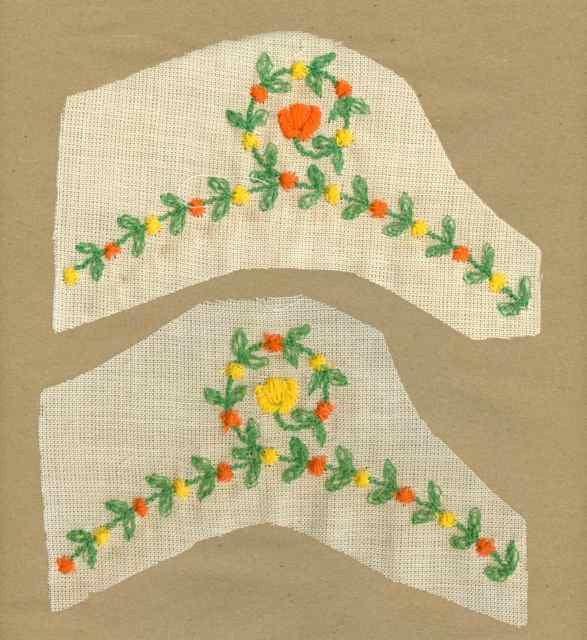 Orange_Yellow_Vintage_Applique_Flower_Garland