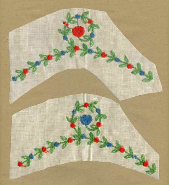 Red_Blue_Vintage_Applique_Flower_Garland