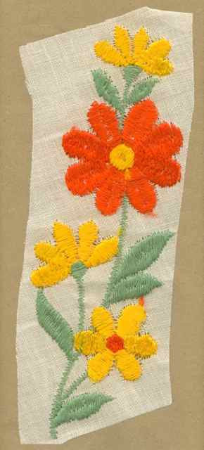 Orange_Yellow_Vintage_Applique_Flower