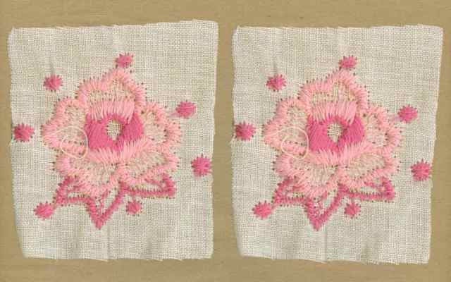 Pink_Vintage_Applique_Geometric_Flower_Motif