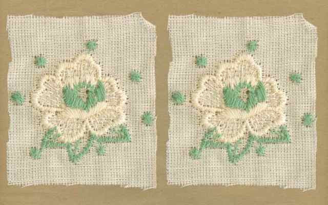 Teal_Vintage_Applique_Geometric_Flower_Motif