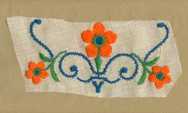 Orange_Vintage_Applique_Flower_Motif