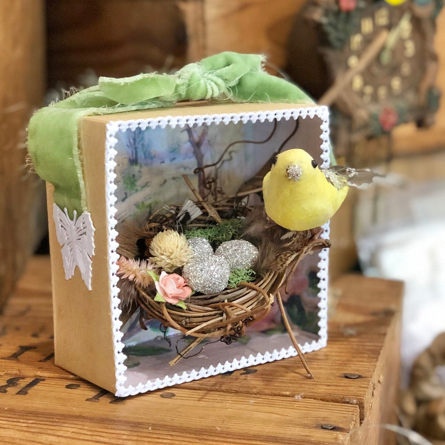Spring Shadowbox Workshop