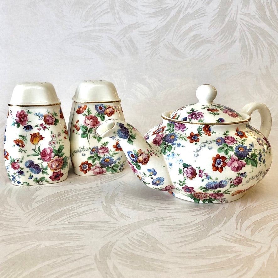 Cheery Chintz Porcelain