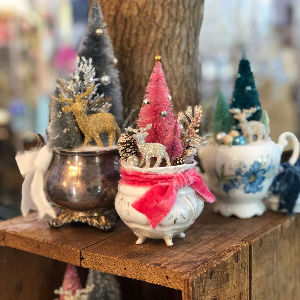 Winter TeaCup Diorama Workshop