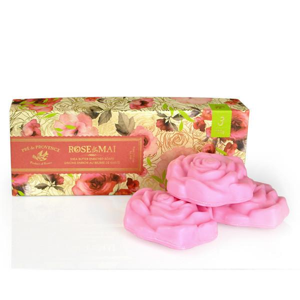 Pretty Rose Soap Gift Box