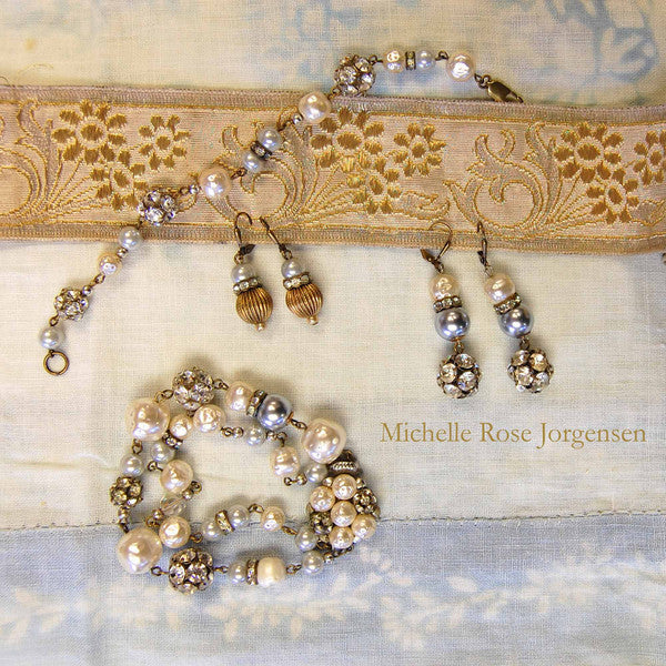 Misty Pearl Vintage Jewelry Collection