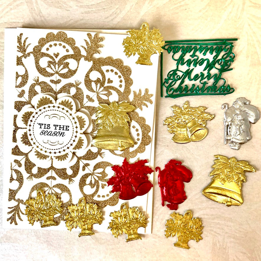 Tis the Season Christmas Ephemera Kit