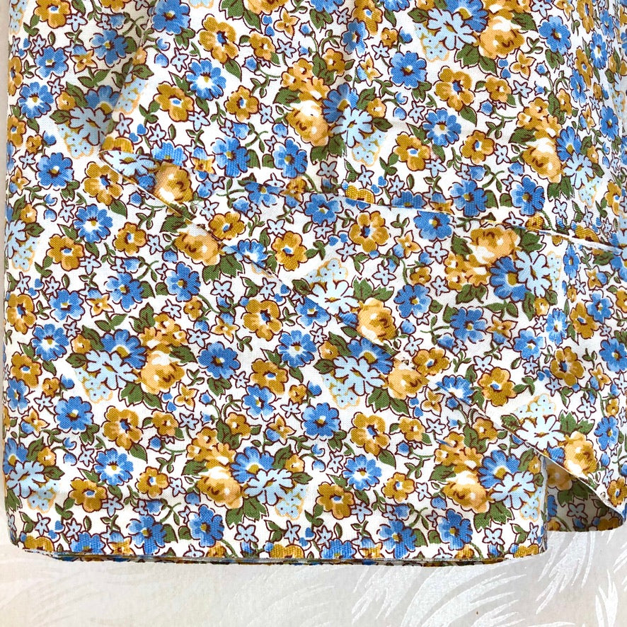 Tinyprint Cotton Floursack Fabric