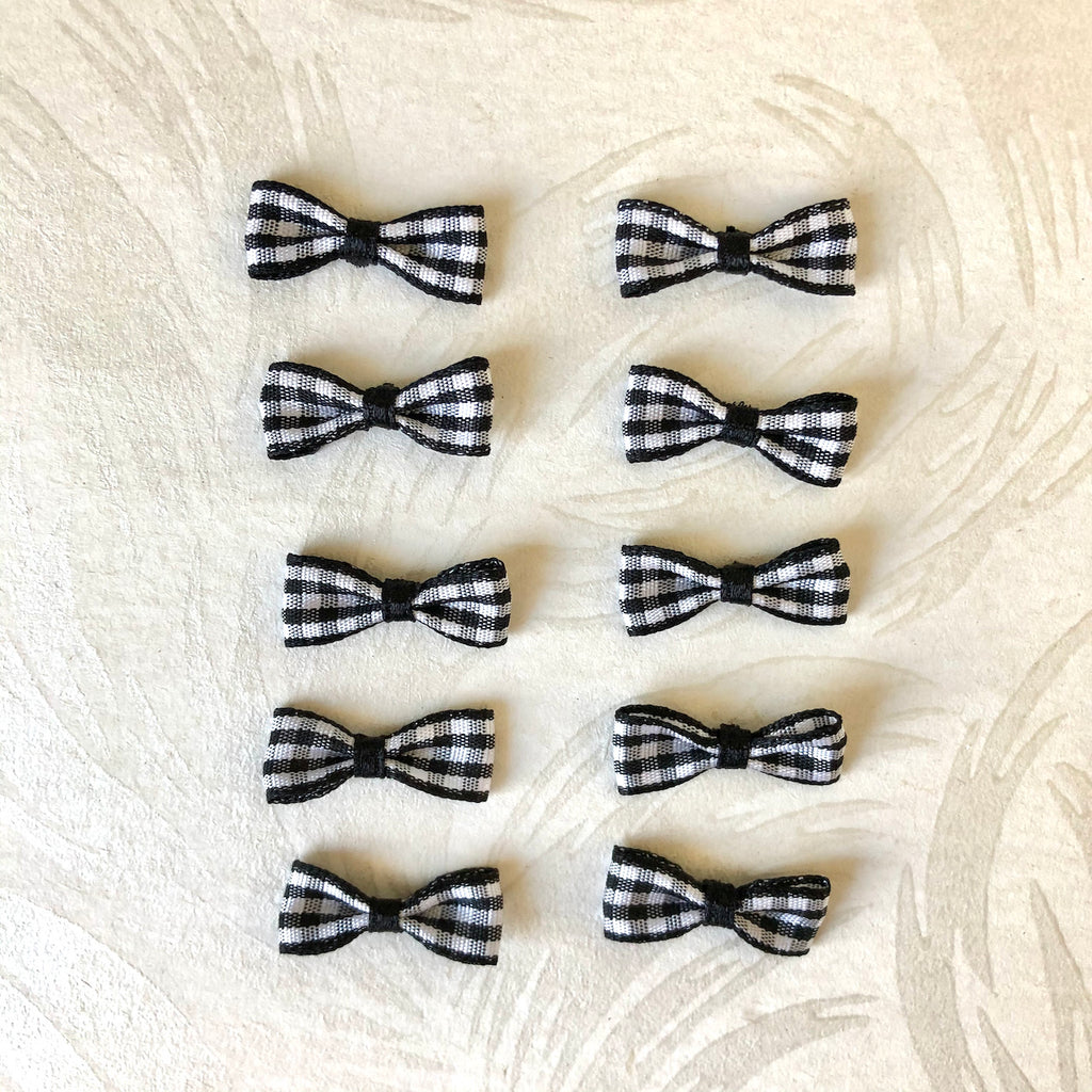 Mini Check Bow-Ties