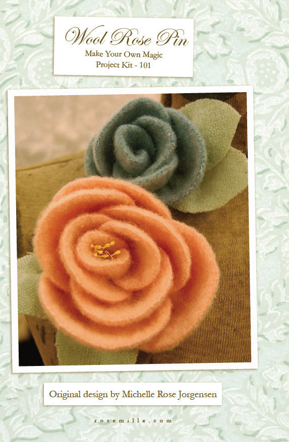 Wool Rose Pattern