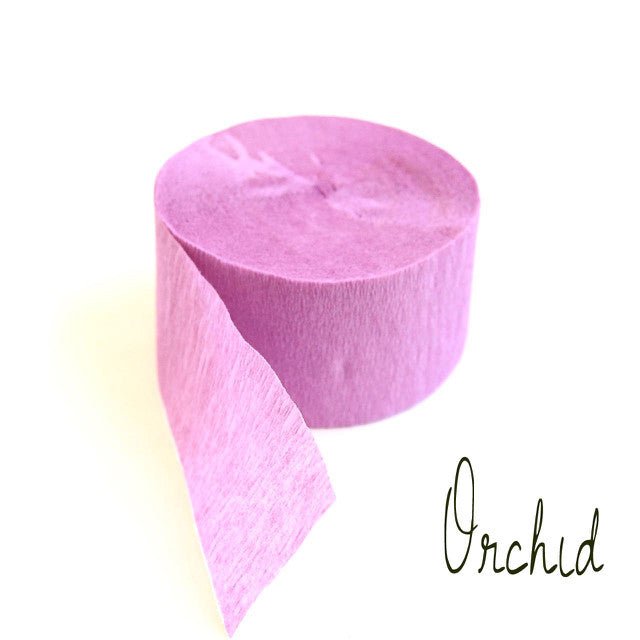 Crepe Paper Streamers (rolls)