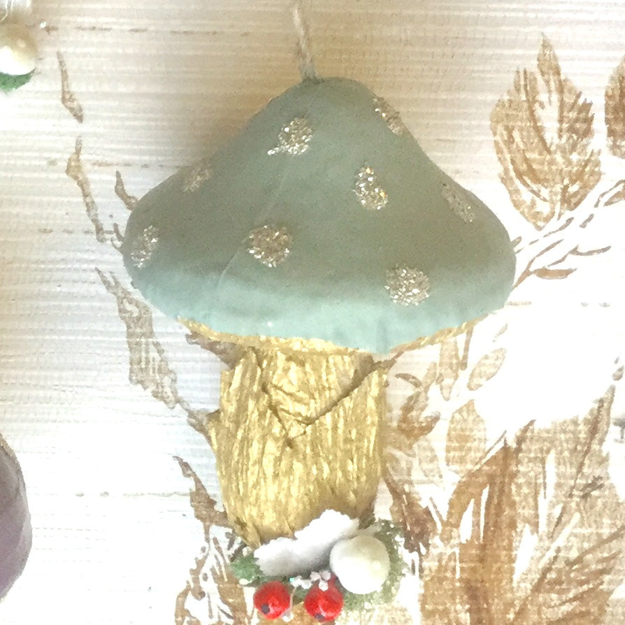 Magical Mushroom Woodland Ornament