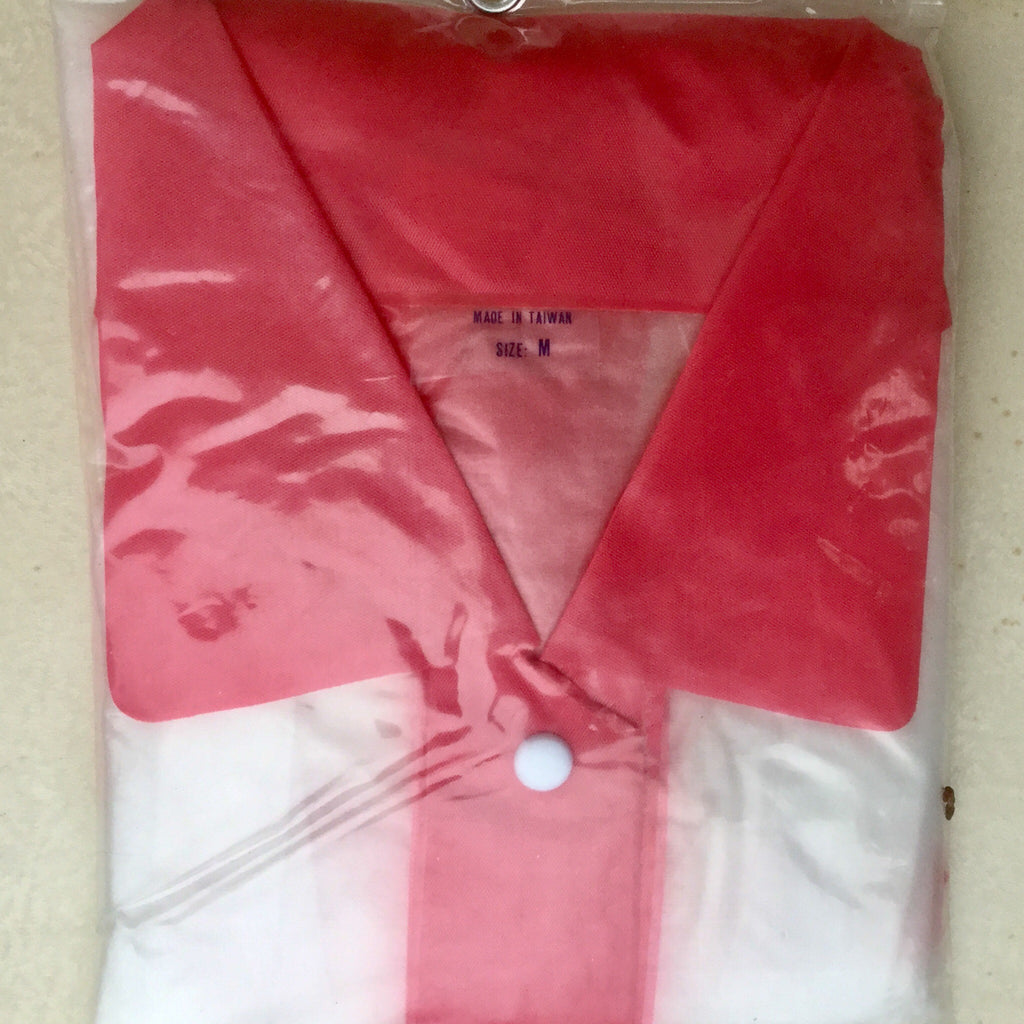 Women's Vintage Raincoat, New in Package