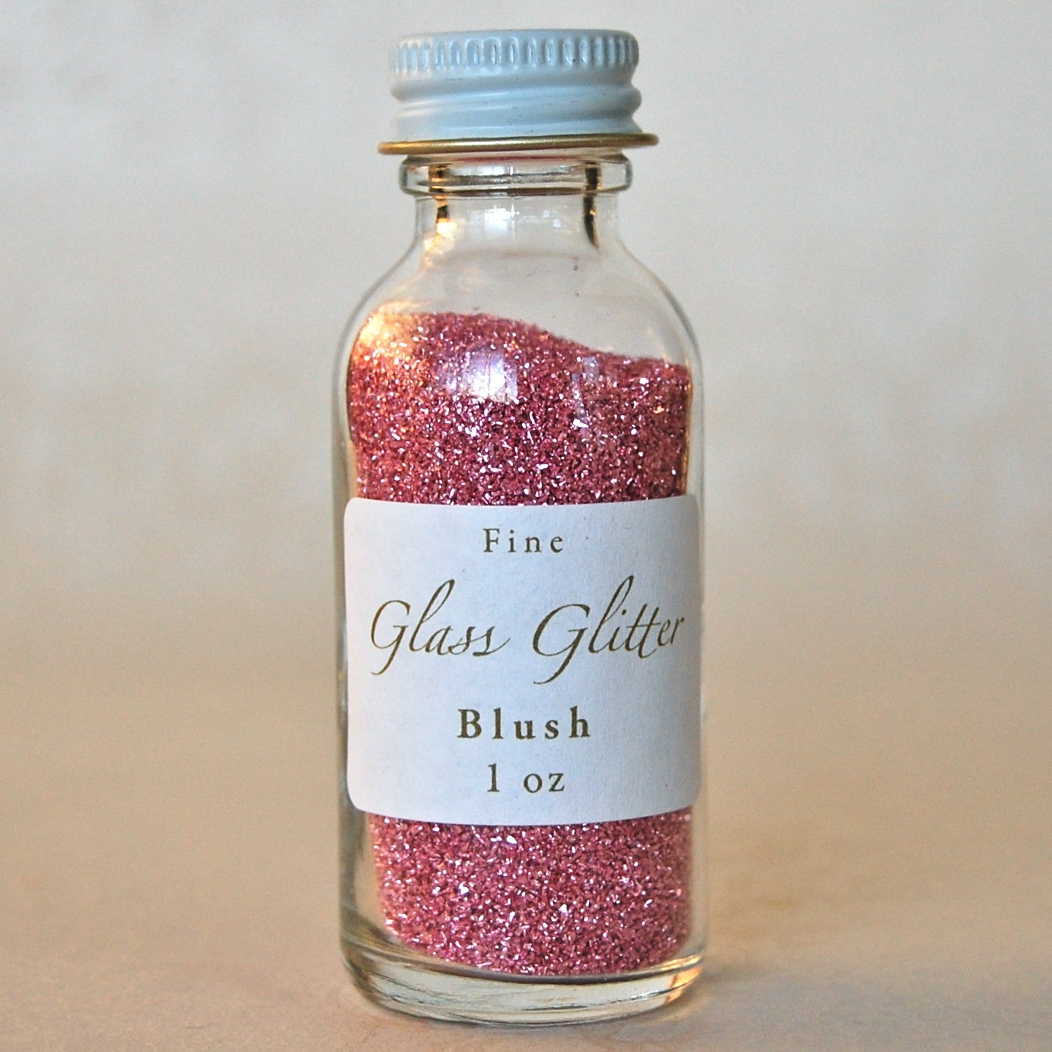 Blush-Pink-Glass-Glitter-Bottle
