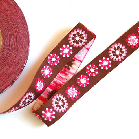 Mod Collection Woven Jacquard Ribbon